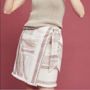 Anthropologie Holding Horses Avery wrap skirt